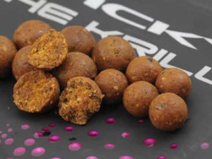 Krill Boilies at Eden's Lakes