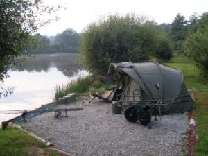 Tranquil setting at Eden's Lakes