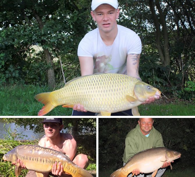 Eden's Lakes - Carp Fishing Catch Report