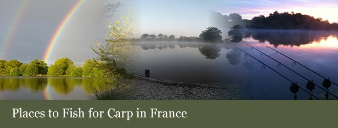Rainbow over Eden's Lake - Places to Fish for carp in France