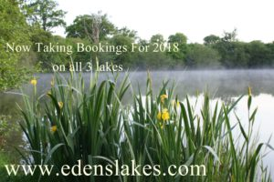 Now taking bookings for 2018
