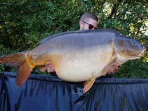 Conor Beardwell broke his p/best twice with a brace of Mirrors